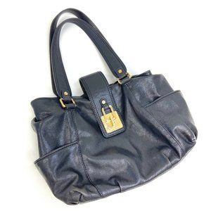 Michael Kors   Genuine Leather Black Bag